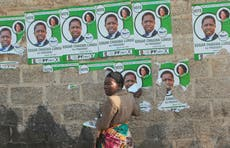 Early election results show Zambian opposition leader ahead