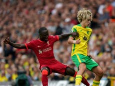 Team news and predicted line-ups ahead of Norwich vs Liverpool