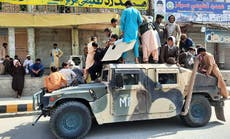 How quickly did Taliban advance across Afghanistan?