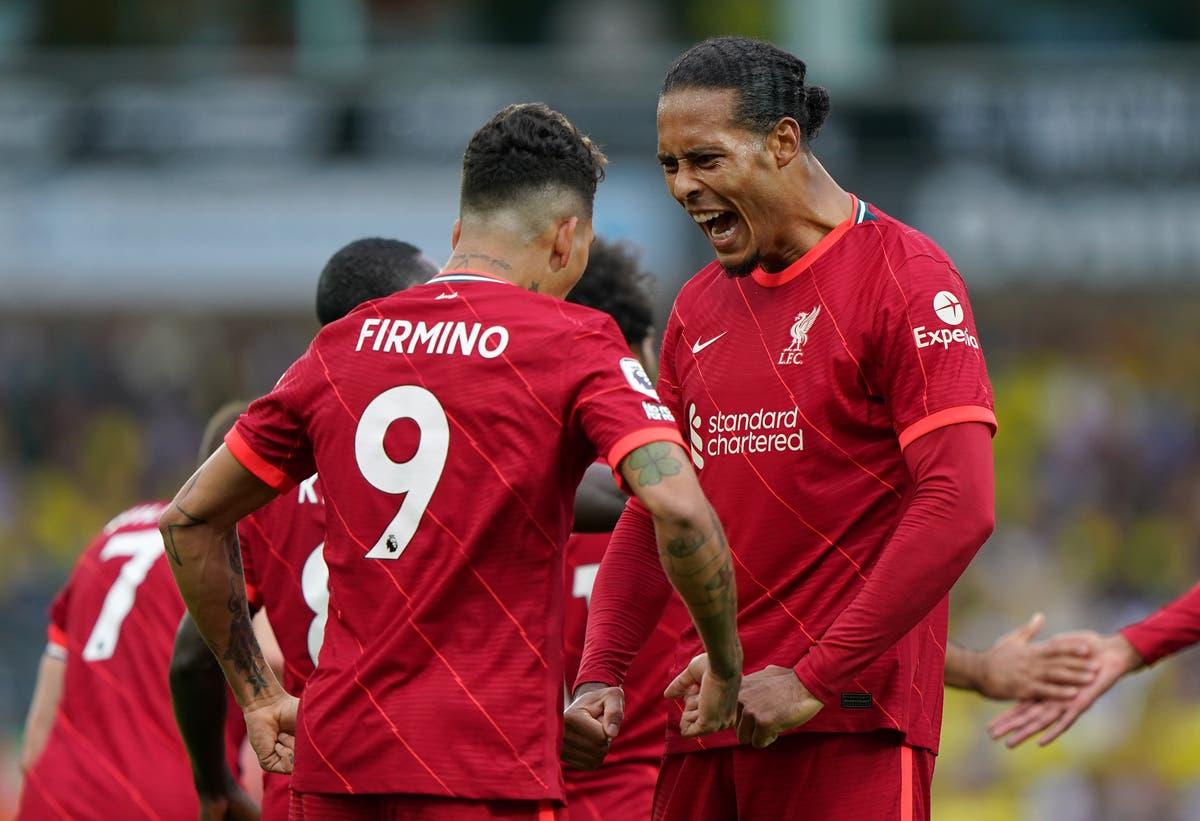 Virgil Van Dijk warning to title rivals as Liverpool get off to convincing start