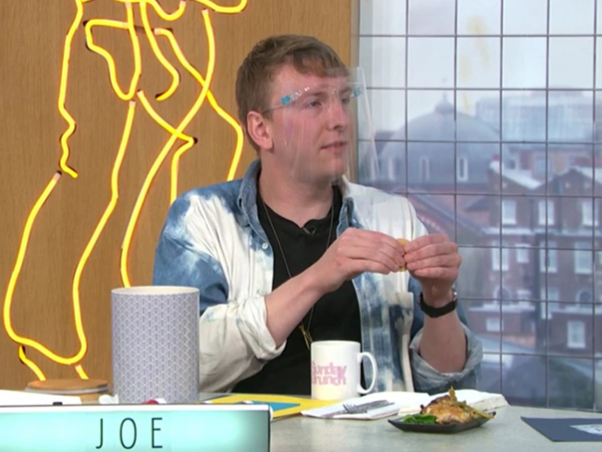 Joe Lycett jokes about 'storming off' Sunday Brunch after Steph's Packed Lunch stunt