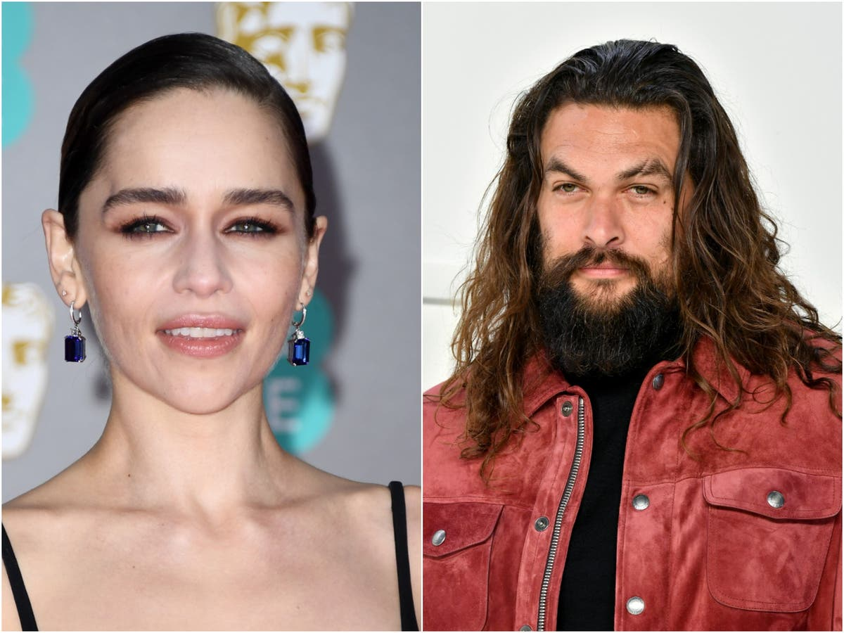 Jason Momoa and Emilia Clarke get together for Game of Thrones reunion