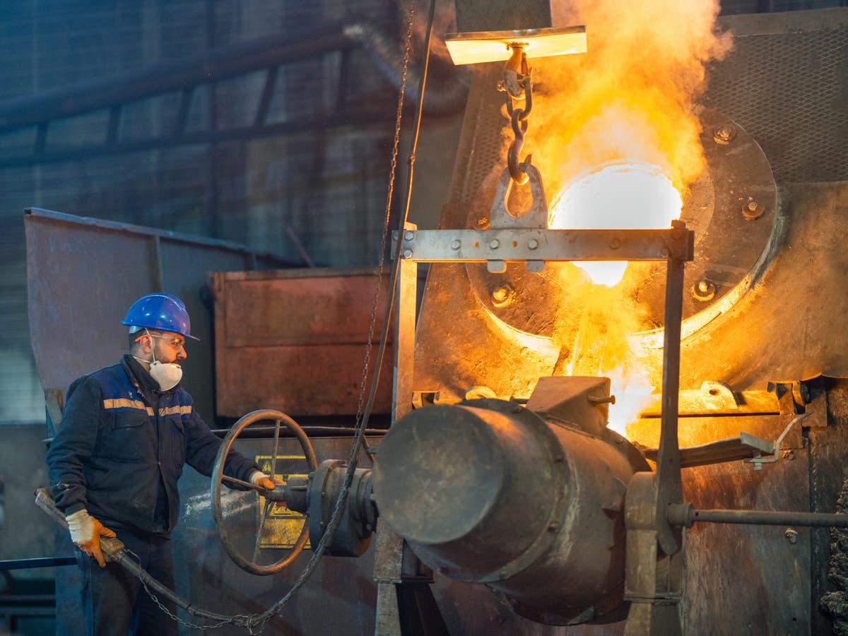 科学家对制造业导致金属污染风险增加发出警告