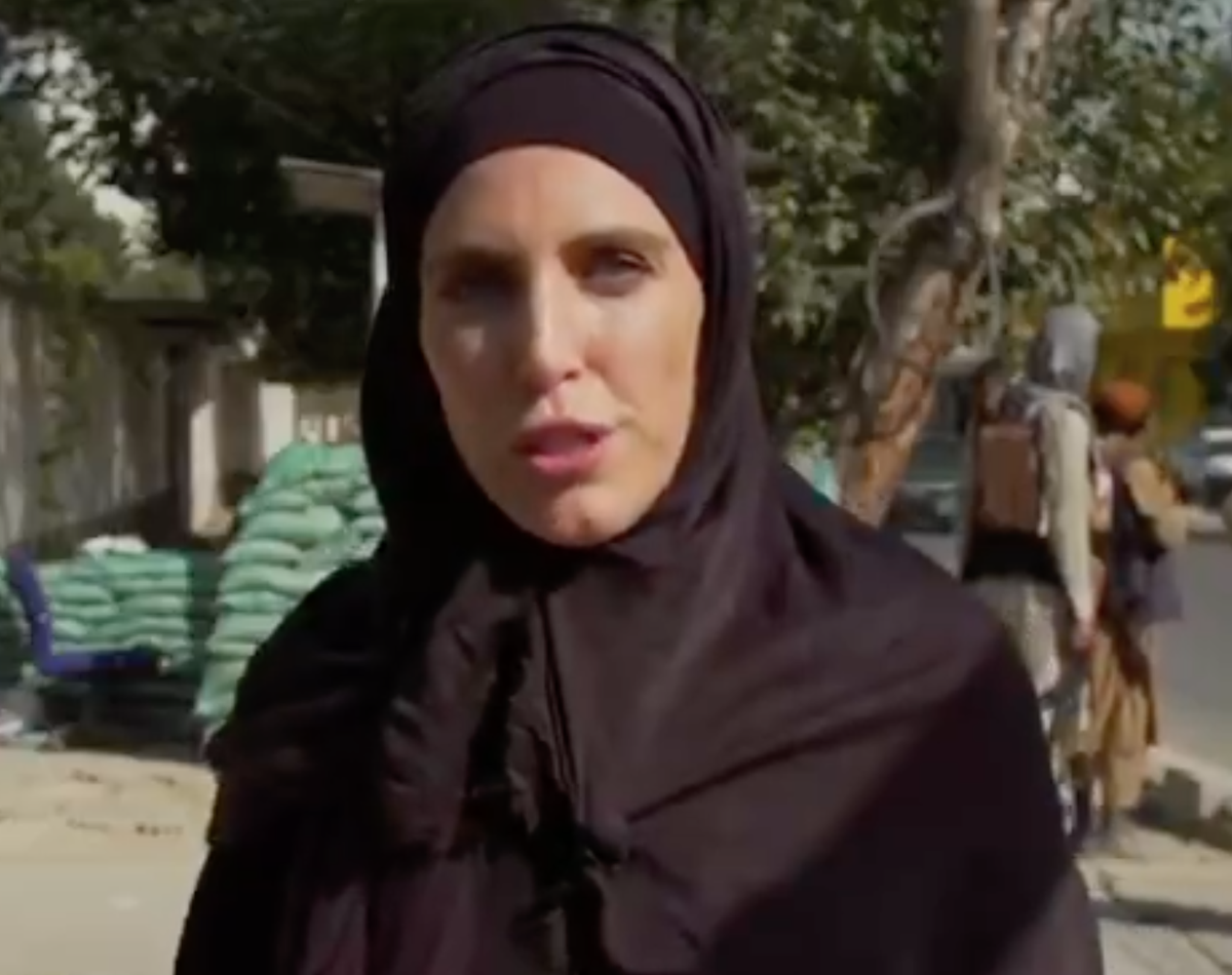 Taliban order female CNN reporter to get out of their way