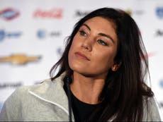 Hope Solo accuses Megan Rapinoe of 'almost bullying' teammates into kneeling