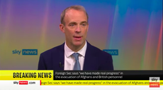 'No one saw this coming,' says Dominic Raab on swift Taliban takeover of Afghanistan