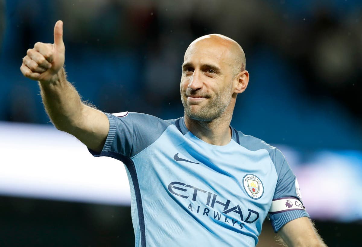 'Right time to move on' – Pablo Zabaleta hoping Harry Kane makes Man City switch