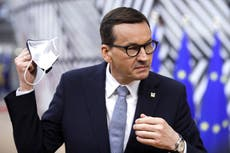 Polexit: Polish PM accuses EU of 'blackmail' as row with Brussels intensifies
