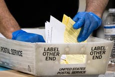 Two Georgia election workers fired after allegedly shredding 300 voting applications
