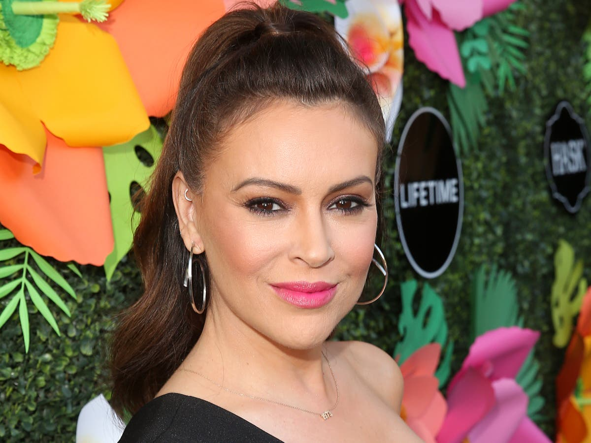 Alyssa Milano in car accident after uncle suffers possible heart attack while driving