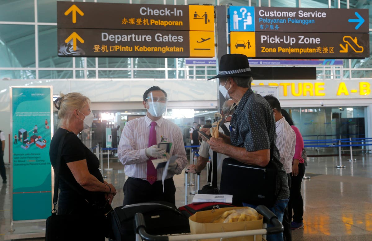 Special repatriation flight takes Australians home from Bali
