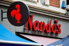 Nando's hopes to reopen all branches by weekend after 'staff shortages'
