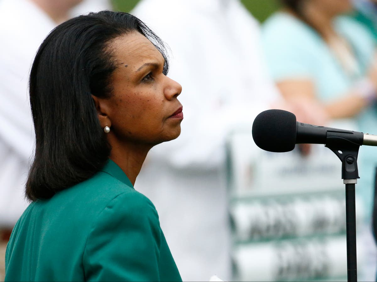 Condoleezza Rice criticised after insisting Americans want to move on from 6 Jan
