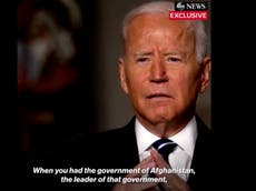ABC accused of misleading edit in Biden interview on Afghanistan