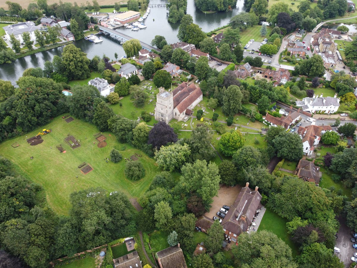 'Lost' Anglo-Saxon monastery discovered next to Cookham church