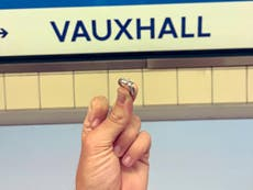 Engagement ring found in Vauxhall tube station sparks search for owner