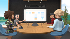 Facebook reveals its future of meetings: cartoon colleagues talking to each other in virtual reality