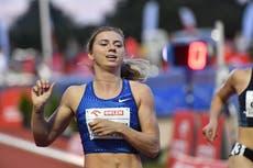 O velocista da Bielo-Rússia que desertou durante as Olimpíadas quer disputar a Polônia