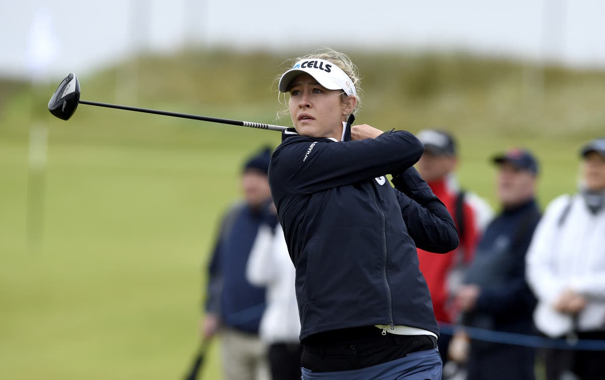 World number one Nelly Korda shares early lead at Women's Open