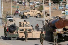 Taliban's haul of US military gear includes 2,000 armoured vehicles and 40 aircraft