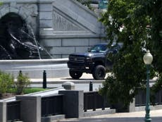 'We're living in the Twilight Zone': DC shrugs as Trump supporter causes hours-long disruption with bomb threat standoff