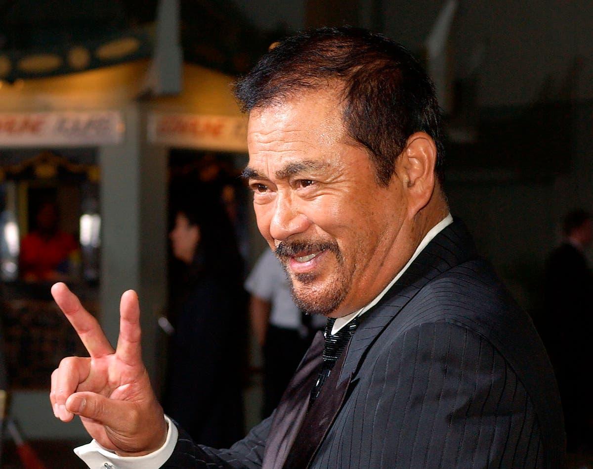 Japanese martial artist film star Sonny Chiba dies at 82