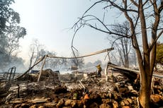 California fire season sets records, more damage expected