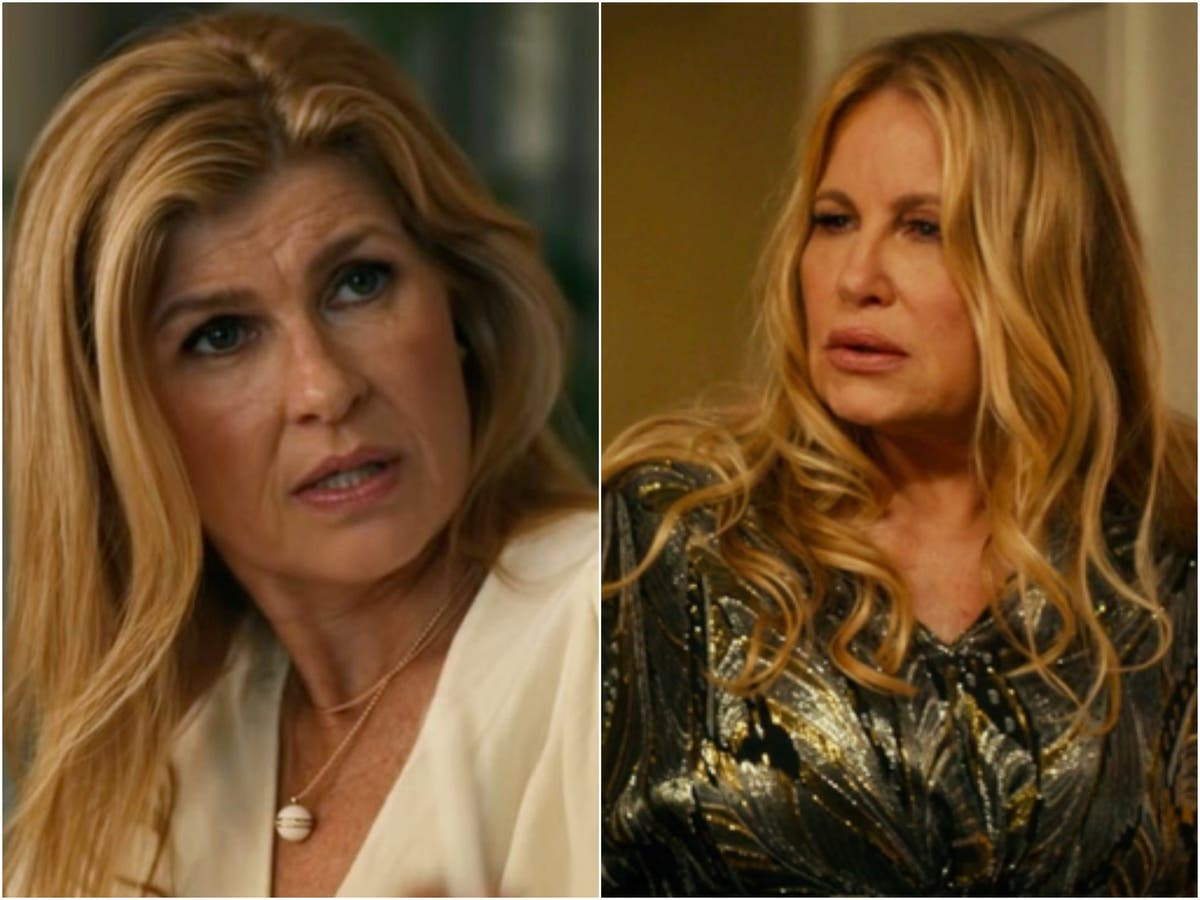 Connie Britton recalls surreal evening at Jennifer Coolidge's New Orleans home