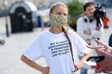 Climate strikes return as leaders 'don't care about future', says Greta Thunberg
