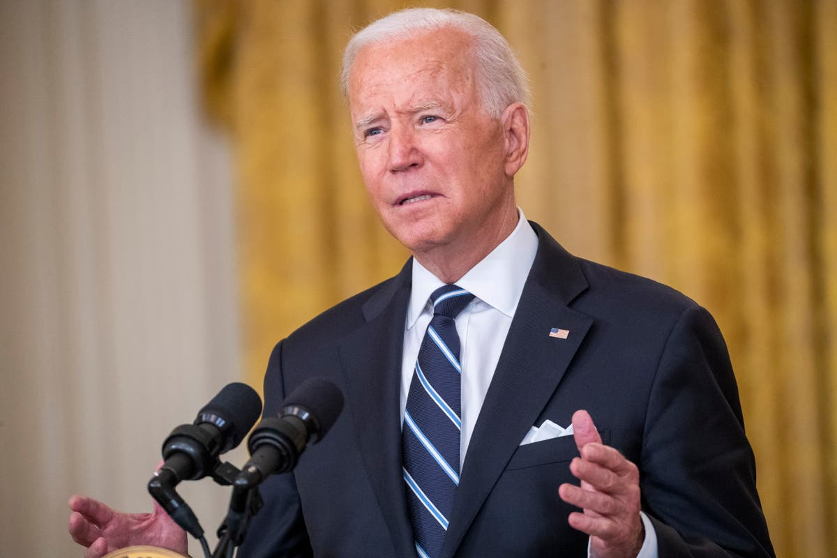 When will Biden give his address to the nation today?