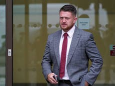 Independent journalist 'too frightened' to go to door after Tommy Robinson turned up 'to prevent publication of story'