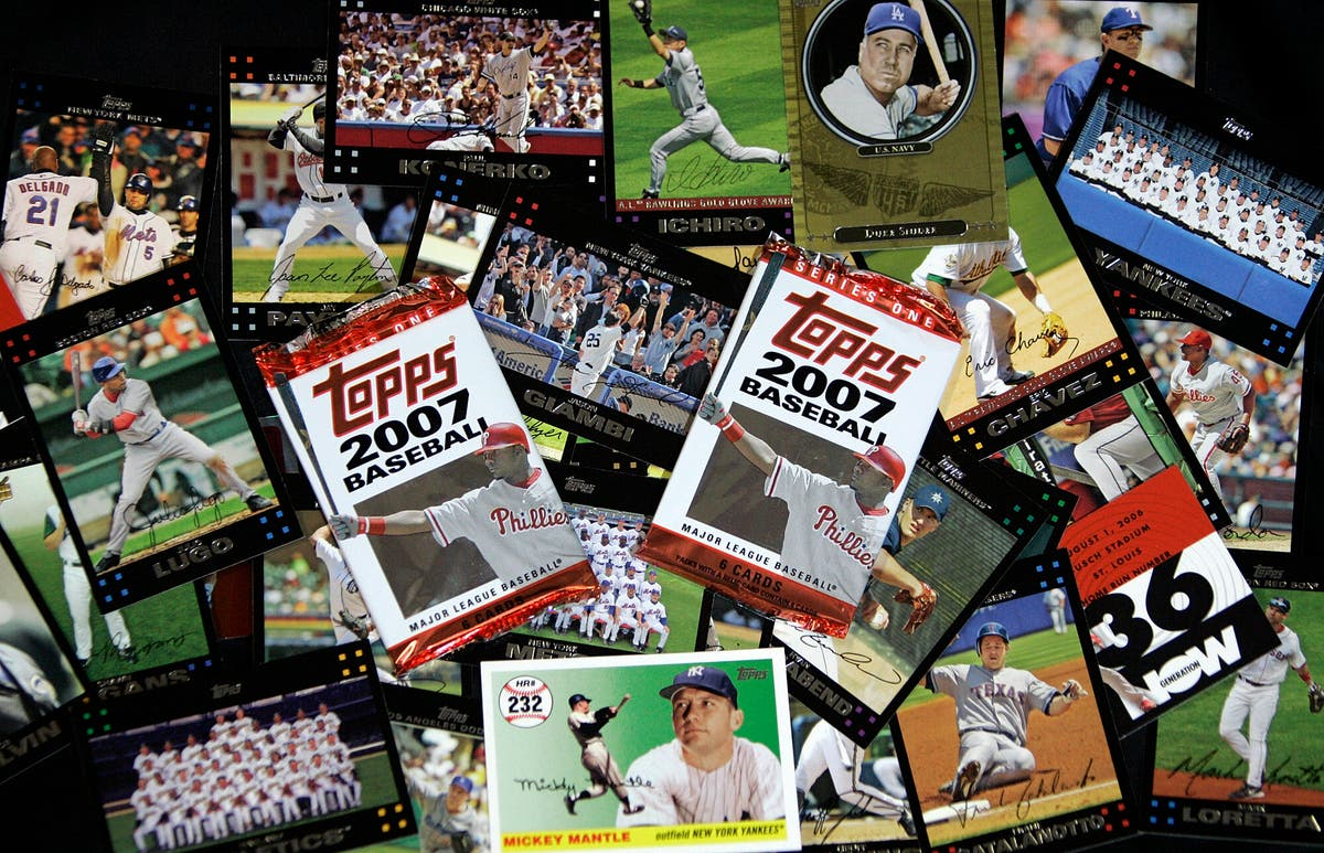 MLB to end 70-year partnership with Topps trading cards