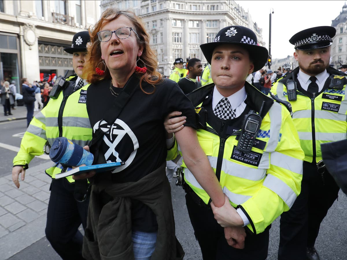 XR demand answers on how protests will be policed as activists' convictions quashed