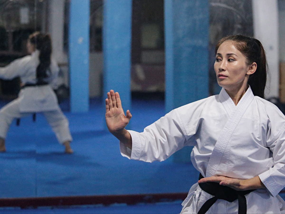 Afghan karate champion fears Taliban takeover means game over for female athletes
