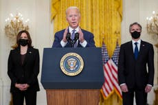 Biden overruled Blinken and Austin on Afghanistan pullout, book says