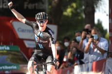 Michael Storer hails DSM dominance after Vuelta a Espana stage win