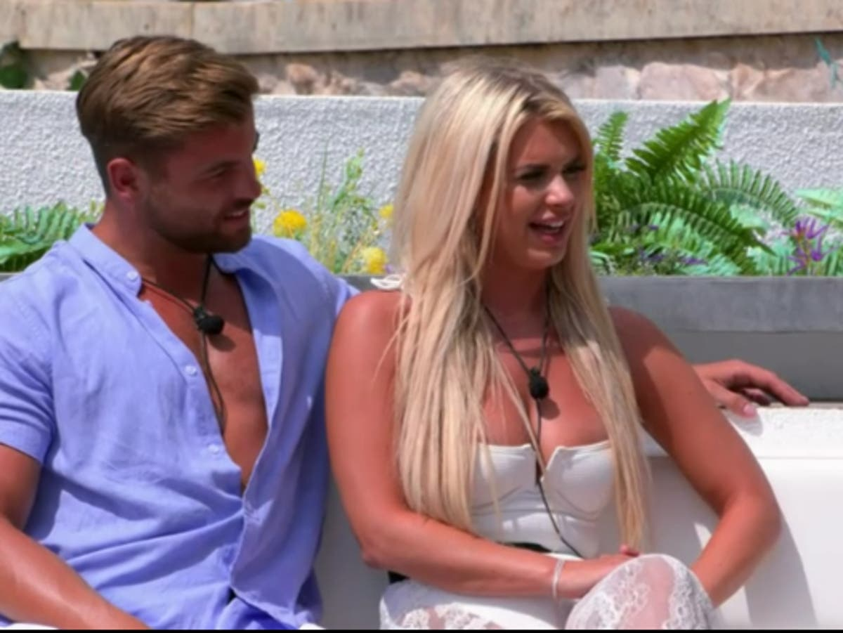 Liberty and Jake break up and leave the Love Island villa