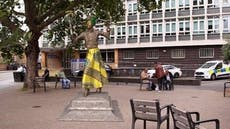 Sean Rigg custody death: Virtual statue unveiled outside Brixton police station to mark anniversary