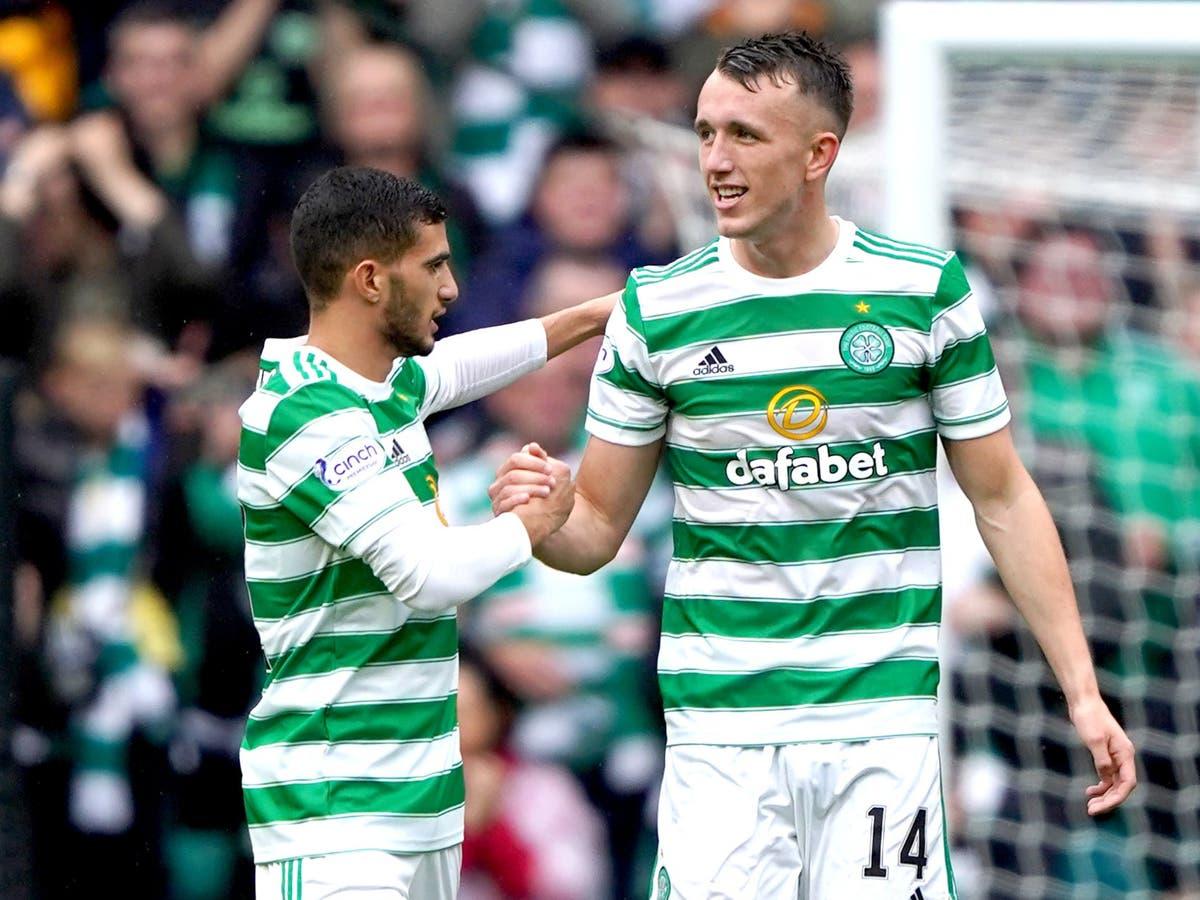 David Turnbull treble helps Celtic hit 10-man St Mirren for six