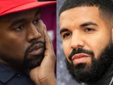 Kanye West appears to leak Drake's home address as feud continues