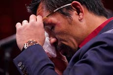 Kolom: Even Manny Pacquiao finds Father Time undefeated