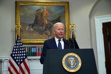 Storm Henri news – Biden gives update on response after system makes landfall over Rhode Island