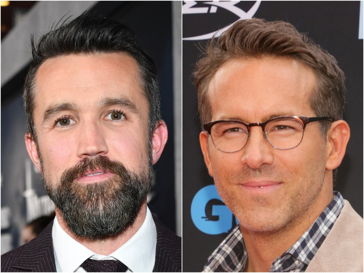 Ryan Reynolds and Rob McEIhenney hit back hilariously at Ted Lasso joke about them