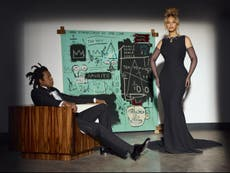 What is the controversy around Beyoncé's Tiffany campaign?
