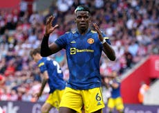 'We deserved more': Paul Pogba frustrated by Manchester United's draw at Southampton