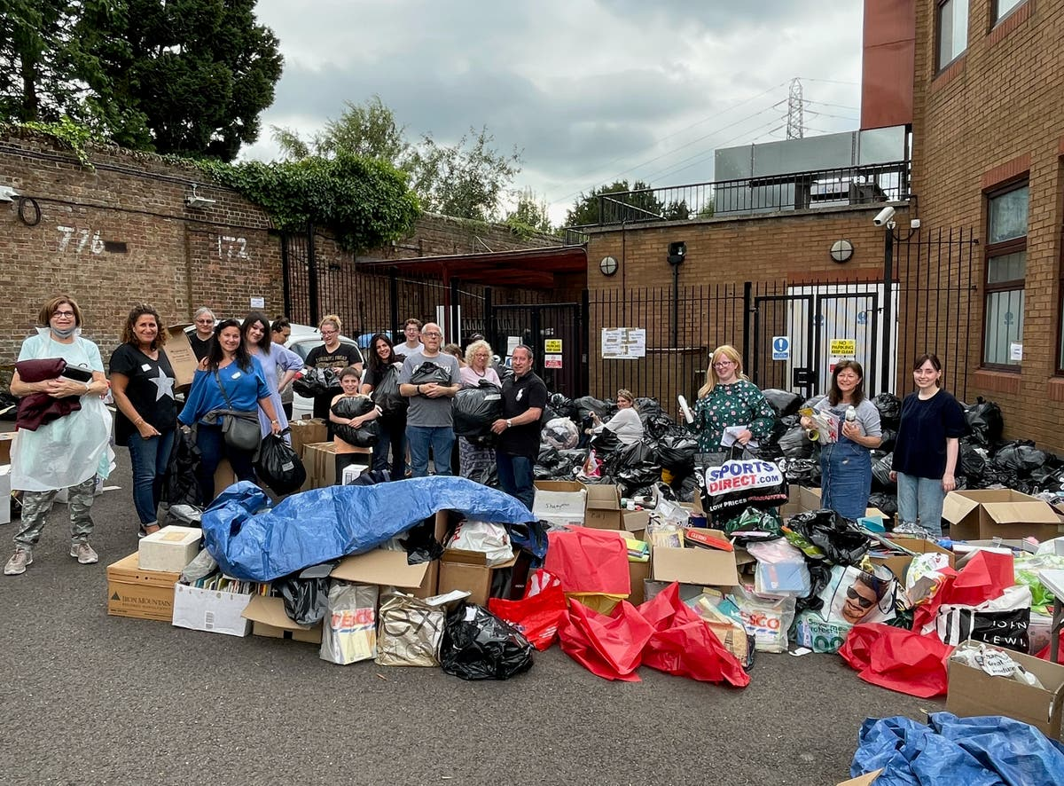 Donations for Afghans 'a tremendous act of love' from local community