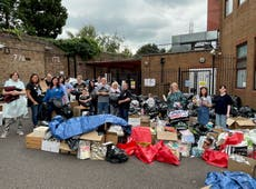 Donations for Afghans 'a tremendous act of love' from Hertfordshire community