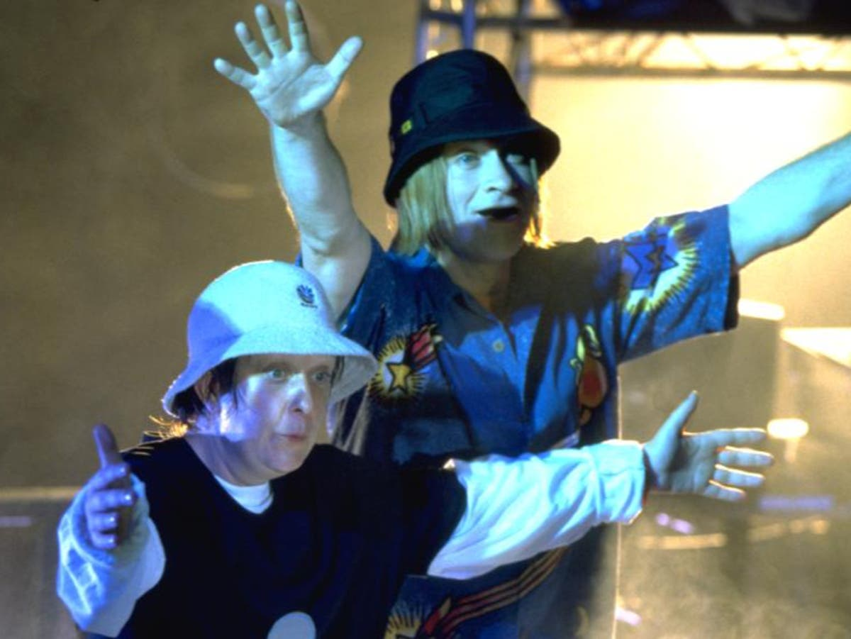 Kathy Burke reacts to viral clip of dancing festival-goers dressed as Kevin and Perry