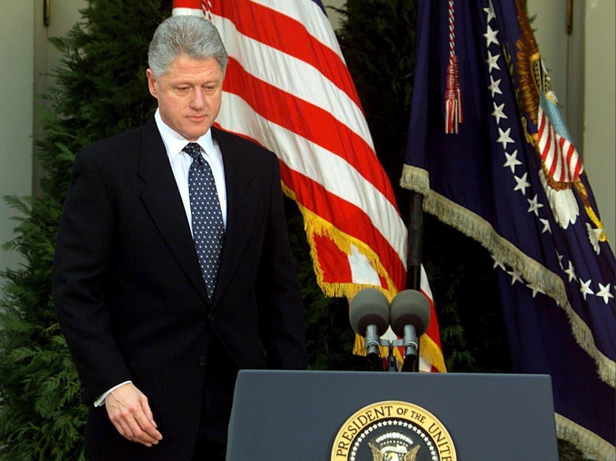 Bill Clinton's impeachment in pictures