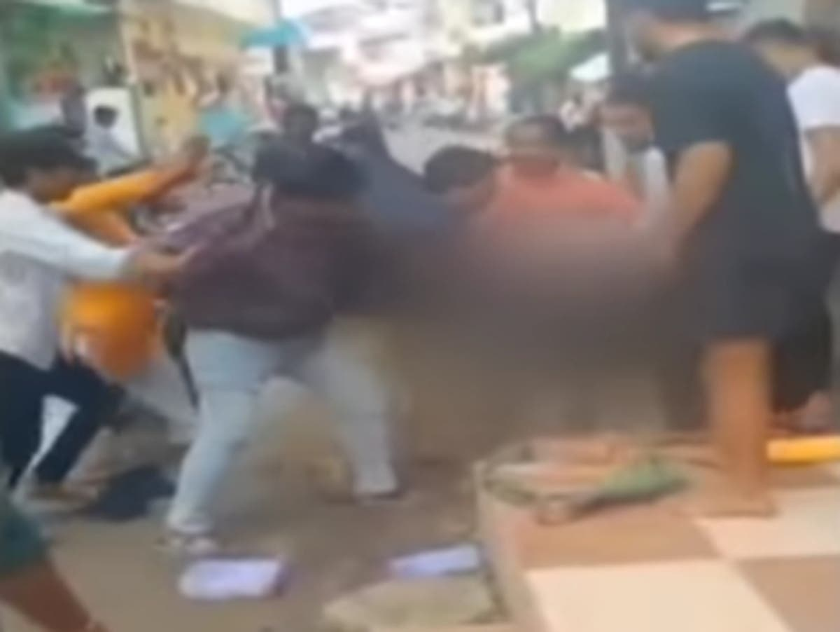 Muslim bangle seller charged with sexual assault after being harassed by mob